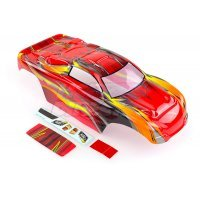 HSP 1/10 Viper Stadium Truck Painted Red Body Shell