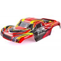 HSP 1/10 Storm Short Course Truck Painted Red Body Shell