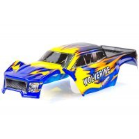 HSP 1/10 Wolverine Truck Painted Blue Body Shell