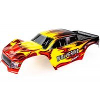 HSP 1/10 Wolverine Truck Painted Red Body Shell