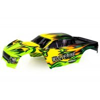 HSP 1/10 Wolverine Truck Painted Green Body Shell