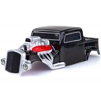 HSP 1/10 Hot Rod Painted Black Body Shell