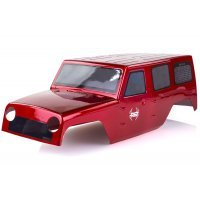 HSP 1/10 Off-Road Crawler Painted Red Body Shell