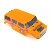 HSP 1/10 RC4 Hummer Truck Painted Mustard Body Shell