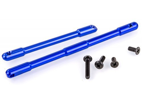 HSP Blue Aluminium Front & Rear Chassis Braces w/ Hardware