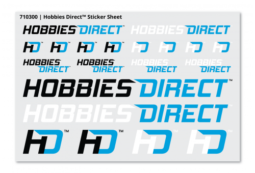 Hobbies Direct™ Sticker Sheet
