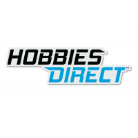 Hobbies Direct™ Black Sticker