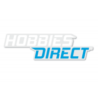 Hobbies Direct™ White Sticker