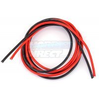 Hobbies Direct 14AWG Red and Black Silicone Wire 1000mm