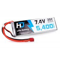 Hobbies Direct 7.4v 5400mAh 35C LiPo Battery