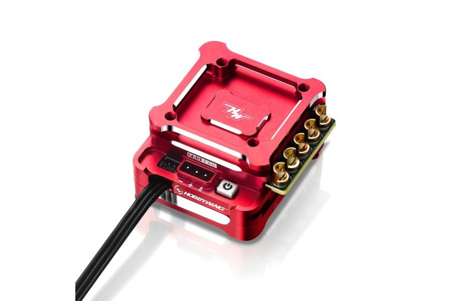 Hobbywing Xerun XD10 Pro Drift 100A Brushless ESC - Red Passion Edition
