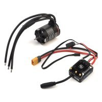 Hobbywing V1.1 XeRun AXE540 1200Kv-FOC Sensored Brushless Motor and 60A ESC Crawler Combo
