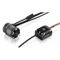 Hobbywing V1.1 XeRun AXE540 1800Kv-FOC Sensored Brushless Motor and 60A ESC Crawler Combo