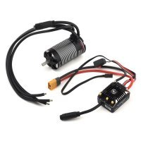 Hobbywing V1.1 XeRun AXE550 3300Kv-FOC Sensored Brushless Motor and 60A ESC Crawler Combo