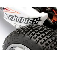 "HB 4.7/5.5"" Baja 5B Rear Khaos Firm Compound Tyres 2Pcs"