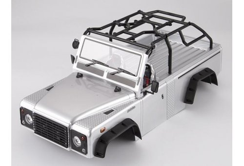 Killerbody TRX-4 Marauder II Silver Painted Body Shell