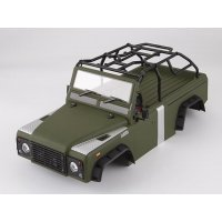 Killerbody TRX-4 Marauder II Matte Green Painted Body Shell