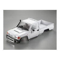 Killerbody TRX-4 Toyota Land Cruiser 70 Series Unpainted Hard Body w/ Decal Sheet