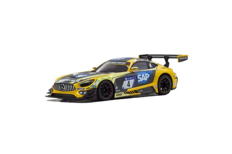 Kyosho Mini-Z 2018 Mercedes AMG GT3 No.4 24Hr Nürburgring RWD Electric On Road RC Car