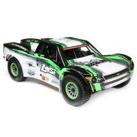 Losi 1/6 Super Baja Rey Electric Brushless Off Road Short Course Truck - Black