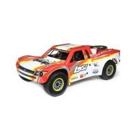 Losi 1/6 Super Baja Rey Electric Brushless Off Road Short Course Truck - Red
