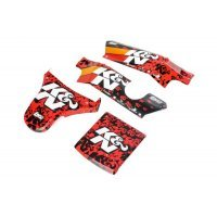 Losi 1/5 DBXL K&N Painted Body Shell Set