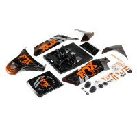 Losi 1/5 DBXL-E 2.0 Fox Racing Painted Body Shell Set
