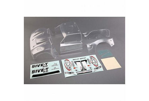 Losi 5IVE-T 2.0 Complete Unpainted Body Shell Set