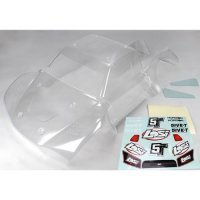 Losi 5IVE-T Complete Unpainted Body Shell Set