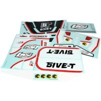 Losi 5IVE-T Black Sticker and Decal Set