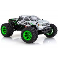 Maverick 1/10 Quantum MT Flux Electric Brushless Off Road RTR RC Truck - Silver/Green