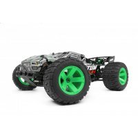 Maverick 1/10 Quantum XT Flux Electric Brushless Off Road RTR RC Truggy - Silver/Green