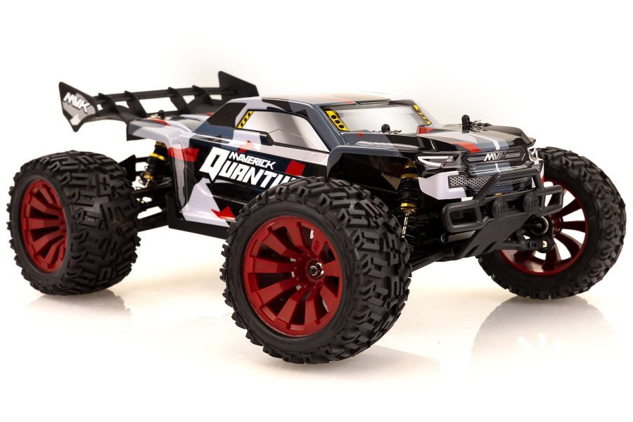 Maverick 1/10 Quantum+ XT Flux 4WD Electric Brushless Off Road RTR RC Truggy - Red