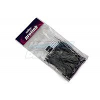 100mmx2.5mm Black Cable Ties 100Pcs