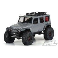 Pro-Line 1/10 Jeep Wrangler Unlimited Rubicon Unpainted Body Shell