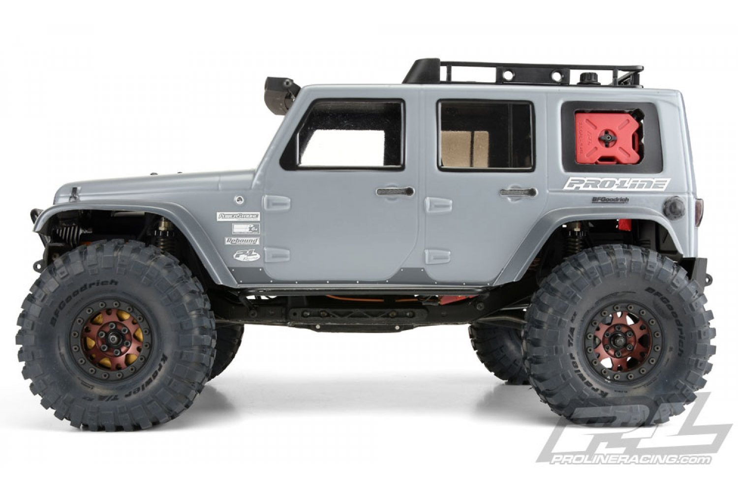 3336-00 | Pro-Line 1/10 Jeep Wrangler Unlimited Rubicon Unpainted Body Shell