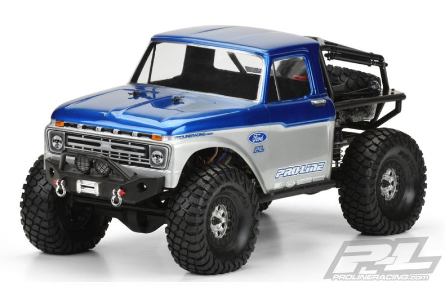 3464-00 | Pro-Line 1/10 1966 Ford F-100 for SCX10 Honcho Unpainted Body Shell