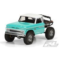Pro-Line 1/10 1966 Chevrolet C10 (Cab Only) for SCX10 Honcho Unpainted Body Shell