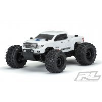Pro-Line 1/10 Monster Truck Brute Bash Armor Pre-Cut White Painted Body Shell