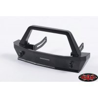 RC4WD Black SCX10 Front Tough Armor Stubby Bumper w/ Winch Mount