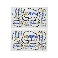 RPM Fist Logo Sticker Sheet