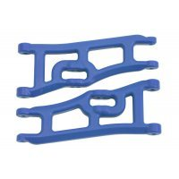 RPM Blue E-Rustler/E-Stampede 2WD Wide Front Lower Suspension Arms