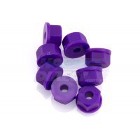RPM Purple 3.5mm (6-32) Nylon Nuts 8Pcs