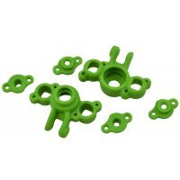 RPM Green Traxxas 1/16 Series Steering Hubs