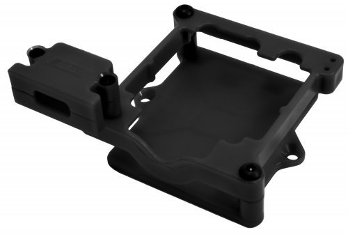 RPM Black Castle Sidewinder 3/SCT ESC Cage/Mount Set