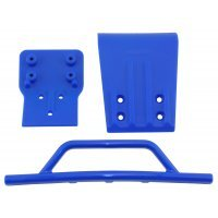 RPM Blue Slash 4WD Front Bumper & Skid Plate