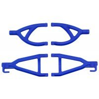 RPM Blue 1/16 E-Revo Rear Upper & Lower Suspension Arm Set