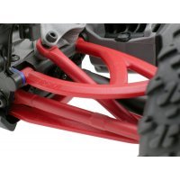RPM Red 1/16 E-Revo Rear Upper & Lower Suspension Arm Set