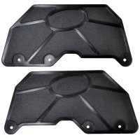 RPM Black Kraton/Outcast Rear Mud Guards for Suspension Arms