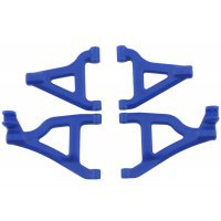 RPM Blue 1/16 Slash/Rally Front Lower & Upper Suspension Arm Set